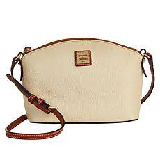 """As Is"" Dooney & Bourke Pebble Leather Suki Crossbody"