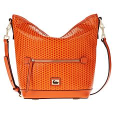 """""""As Is"""" Dooney & Bourke Woven Leather Hobo Bag"""