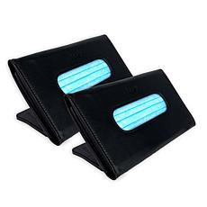 """""""As Is"""" Face Covering Dispensers - Set of 2"""