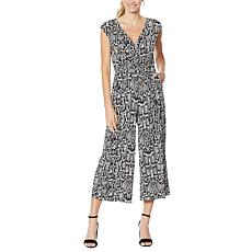 """""""As Is"""" G by Giuliana Cropped Knit Jumpsuit"""
