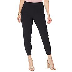 """As Is"" G by Giuliana Flat Front Tie-Waist Jogger Pant"