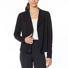 """As Is"" G by Giuliana French Terry Moto Jacket"