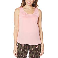 """""""As Is"""" G by Giuliana Knit Back Tank Top"""
