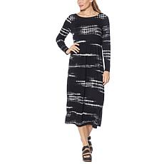 """""""As Is"""" G by Giuliana LounGy French Terry Maxi Dress"""