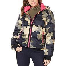 """As Is"" G by Giuliana Puffer Jacket with Removable Hood"