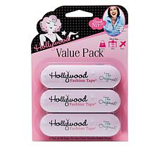 """As Is"" Hollywood Fashion Secrets Fashion Tape Value Pack"
