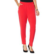 """As Is"" IMAN City Chic Jogger Pant with Pockets"