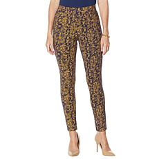 """As Is"" IMAN Global Chic 360 Slim Ponte Skinny Pant"