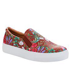 """""""As Is"""" IMAN Global Chic Floral Print Slip-On Sneaker"""