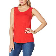 """""""As Is"""" IMAN Global Chic Scoop-Neck Knit Tank"""