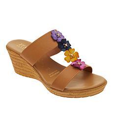 """As Is"" Italian Shoemakers Bailee H-Band Wedge Sandal"