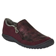 """As Is"" JBU by Jambu Cranberry Casual Slip-On Shoe"