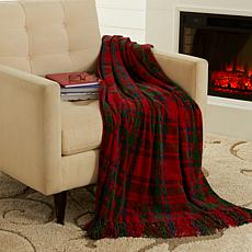 """As Is"" Jeffrey Banks Chenille Throw"