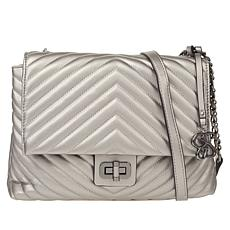 """As Is"" Jessica Simpson Bobbi Quilted Shoulder Bag"