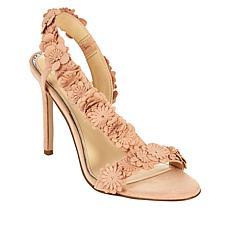 """As Is"" Jessica Simpson Jessin Floral Slingback Dress Sandal"