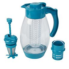 """As Is"" Kitchen HQ 102 fl. oz. Infusing Tritan Pitcher"