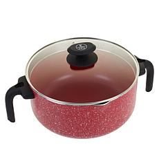 """As Is"" Kitchen HQ 5-Quart Dutch Oven with Ergonomic Handles"