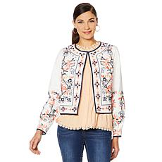 """""""As Is"""" LaBellum by Hillary Scott Embroidered Jacket"""