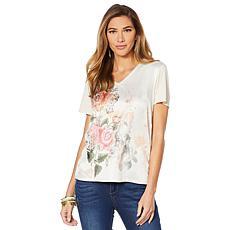 """""""As Is"""" LaBellum by Hillary Scott Mixed Media Printed Tee"""