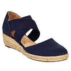 """As Is"" LifeStride Keaton Espadrille Wedge Sandal"