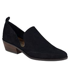 """As Is"" Lucky Brand Mahzan Slip-On Nubuck Leather Loafer"