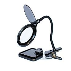 """""""As Is"""" MagnaVue Hands-Free LED Magnifier Lamp"""