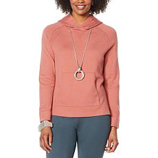 """""""As Is"""" MarlaWynne SoftKNIT Hoodie with Pockets"""