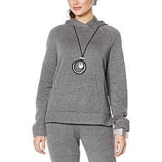 """As Is"" MarlaWynne SoftKNIT Hoodie with Pockets"