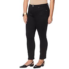 """""""As Is"""" MarlaWynne Stretch Peached Twill Pant"""