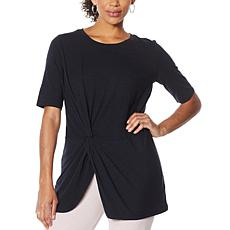 """As Is"" ModernSoul® Twist-Front Tunic"