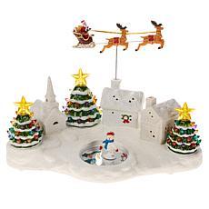 """As Is"" Mr. Christmas Nostalgic Village"