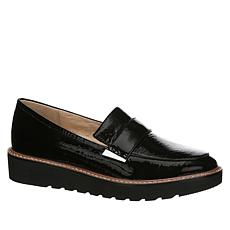 """As Is"" Naturalizer Adeline Leather Platform Loafer"