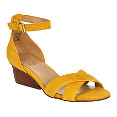 """""""As Is"""" Naturalizer Caine Leather Sandal"""