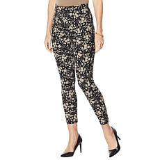 """""""As Is"""" Nina Leonard High Tech Crepe Legging with Piping Detail"""