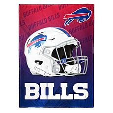 """As Is"" Officially Licensed NFL Fleece Speed Flex Throw - Bills"