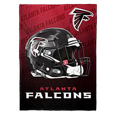 """As Is"" Officially Licensed NFL Fleece Speed Flex Throw - Falcons"
