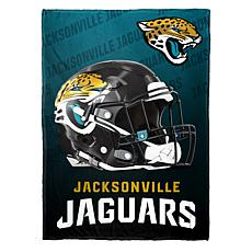 """As Is"" Officially Licensed NFL Fleece Speed Flex Throw - Jaguars"