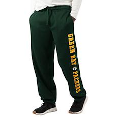 """""""As Is"""" Officially Licensed NFL Game Time Sweatpant by Glll - Packers"""