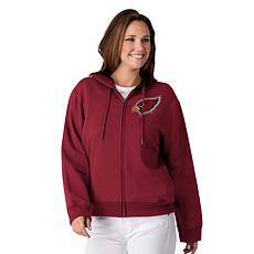 """As Is"" Officially Licensed NFL Women's Full-Zip Hoodie by Glll - C..."