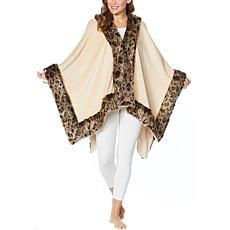 """""""As Is"""" Patricia Altschul Faux Fur House Wrap"""