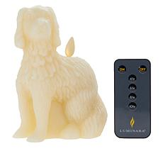 """""""As Is"""" Patricia Altschul Staffordshire Spaniel Dog Shape Candle by..."""