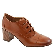 """""""As Is"""" Patricia Nash Milena Leather Laced Shootie"""