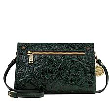 """""""As Is"""" Patricia Nash Turati Leather Crossbody Bag"""