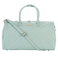 """""""As Is"""" Samantha Brown 21"""" Quilted Satchel"""