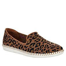 """""""As Is"""" Skechers Cleo Stitch St. Tropez Leopard Slip-On Sneaker"""