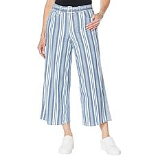 """As Is"" Skinnygirl Barry Wide-Leg Crop Jean"