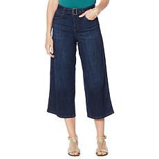 """""""As Is"""" Skinnygirl Barry Wide-Leg Crop Jean"""