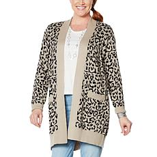 """As Is"" Skinnygirl Colorado Open Cardigan"
