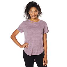 """""""As Is"""" Skinnygirl Daphne High-Low Tee with Cutout"""