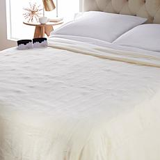 """""""As Is"""" Soft & Cozy Heated Plush Blanket - Queen"""
